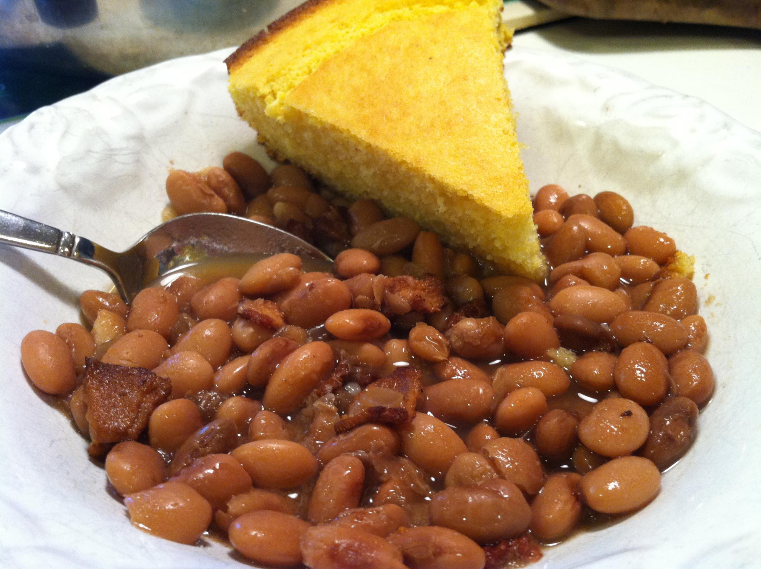 Beans And Cornbread  Beans and Cornbread