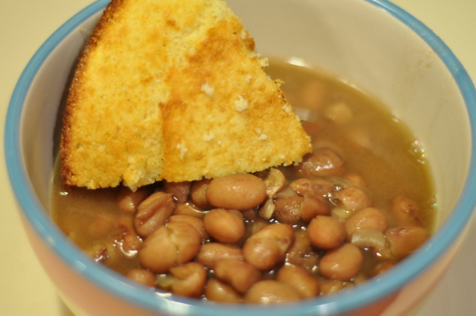 Beans And Cornbread  This Mommy Cooks Beans and Cornbread