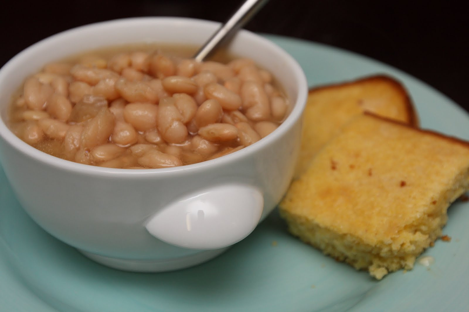 Beans And Cornbread  Simply Yum White Beans