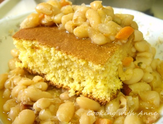 Beans And Cornbread  Cooking with Anne Beans n Cornbread