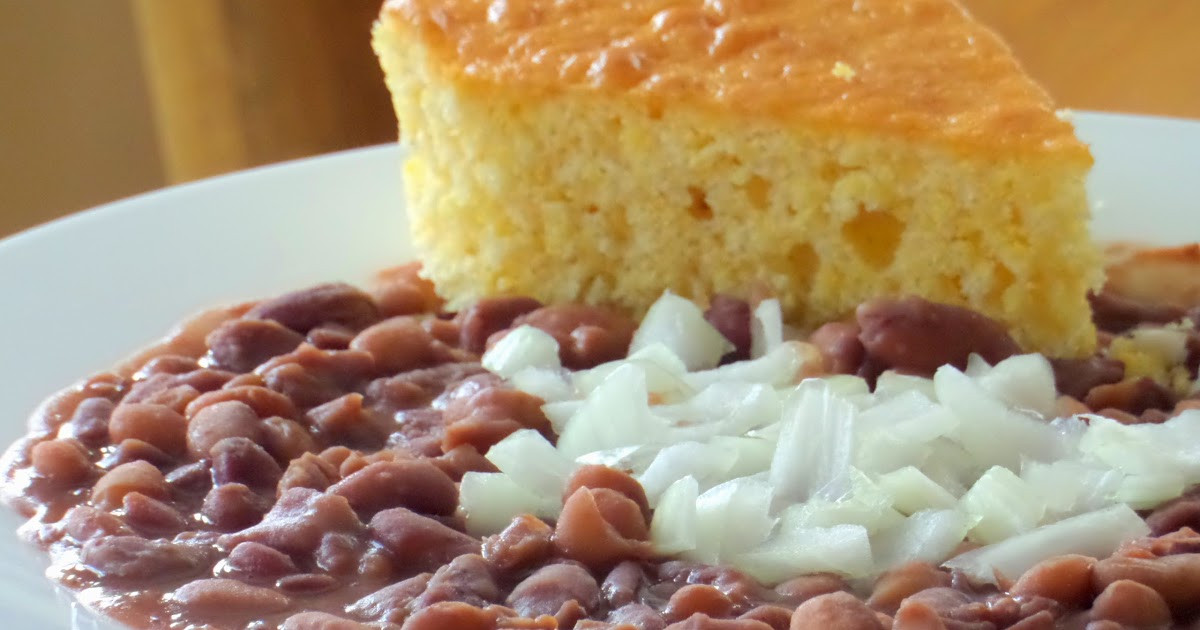 """Beans And Cornbread  Wel e Home Blog Southern """"Soup Beans"""" and Cornbread"""