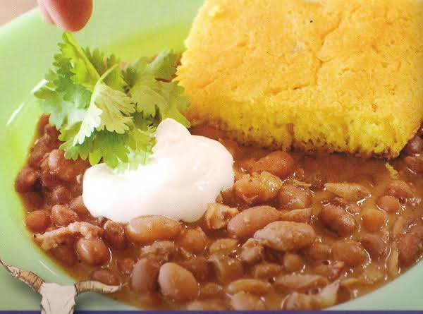 Beans And Cornbread  Beans And Cornbread Recipe