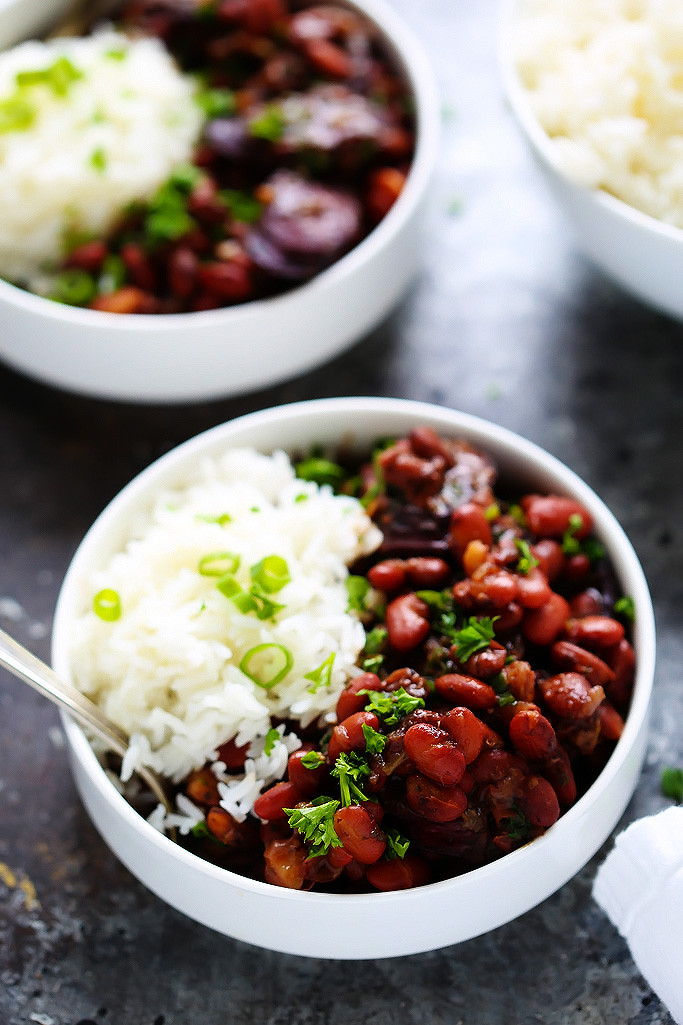 Beans And Rice Instant Pot  Instant Pot Red Beans & Rice
