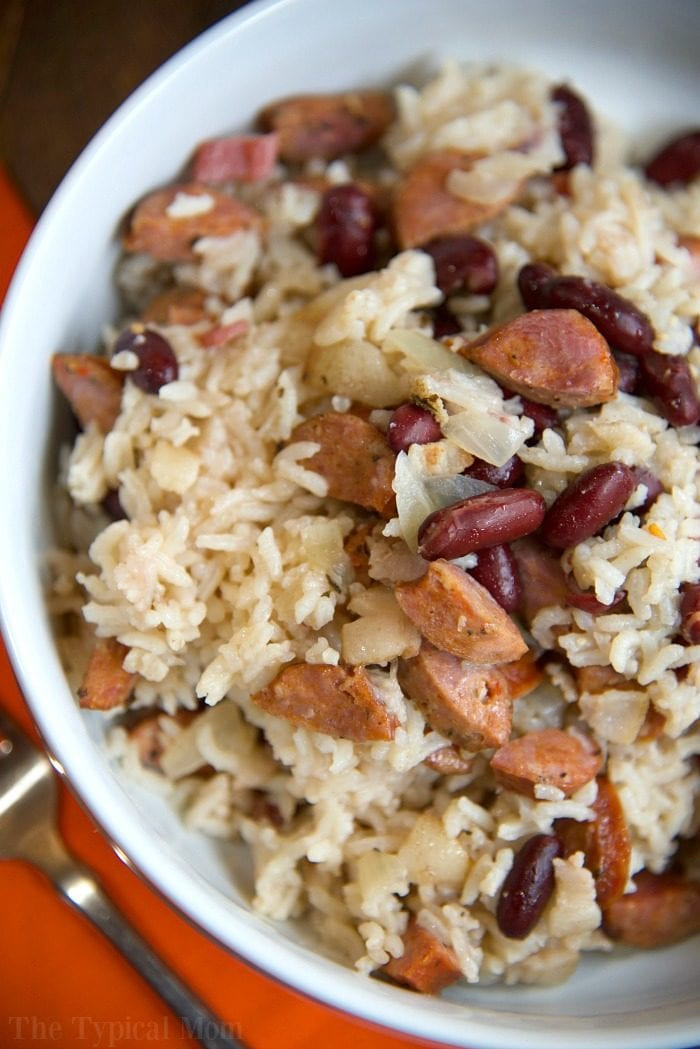 Beans And Rice Instant Pot  Instant Pot Red Beans and Rice · The Typical Mom