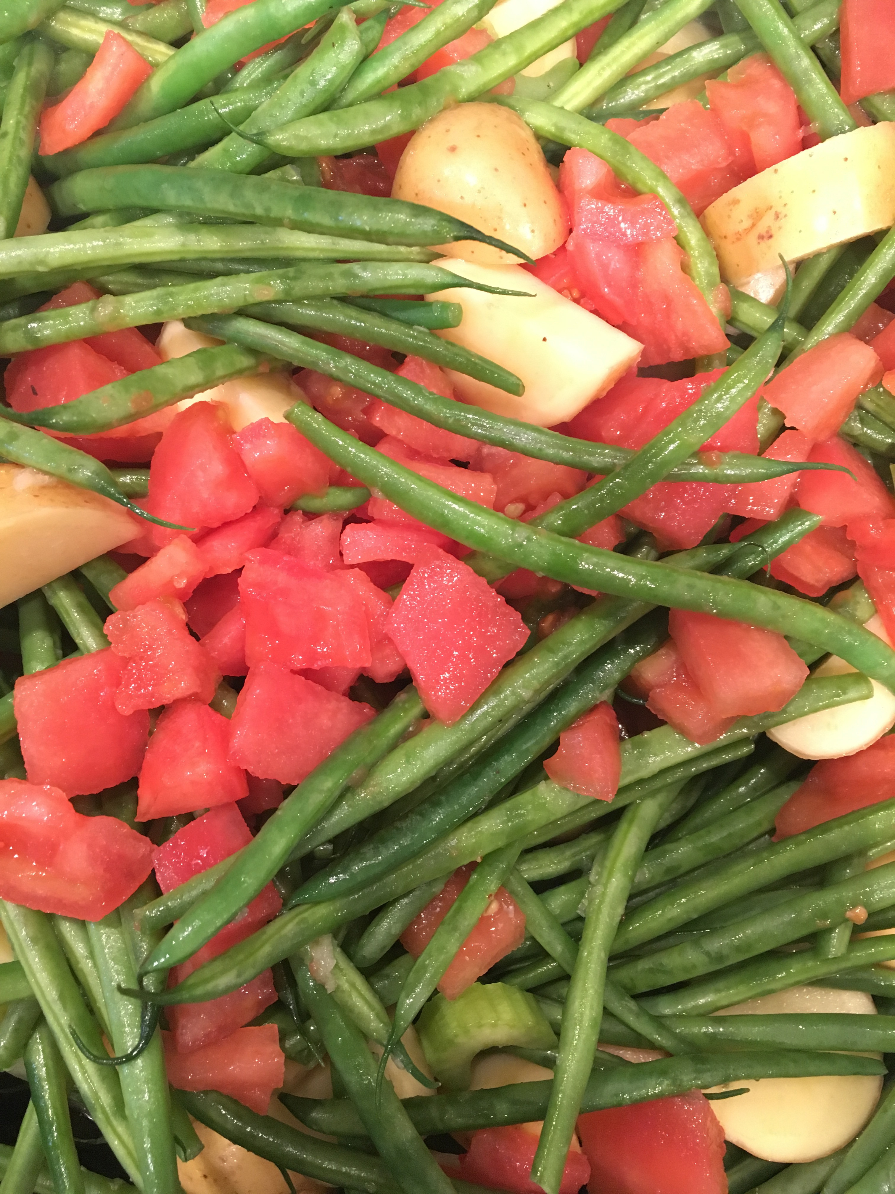 Beans Greens Tomatoes Potatoes  Green Beans Potatoes and Tomatoes Blythes Blog