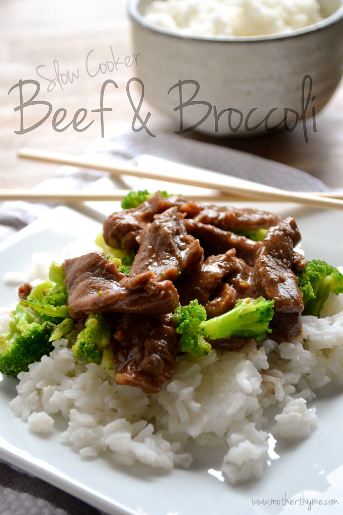 Beef And Broccoli Slow Cooker  Slow Cooker Beef and Broccoli