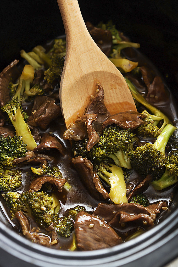 Beef And Broccoli Slow Cooker  Top Slow Cooker Recipes Slow Cooker Broccoli Beef