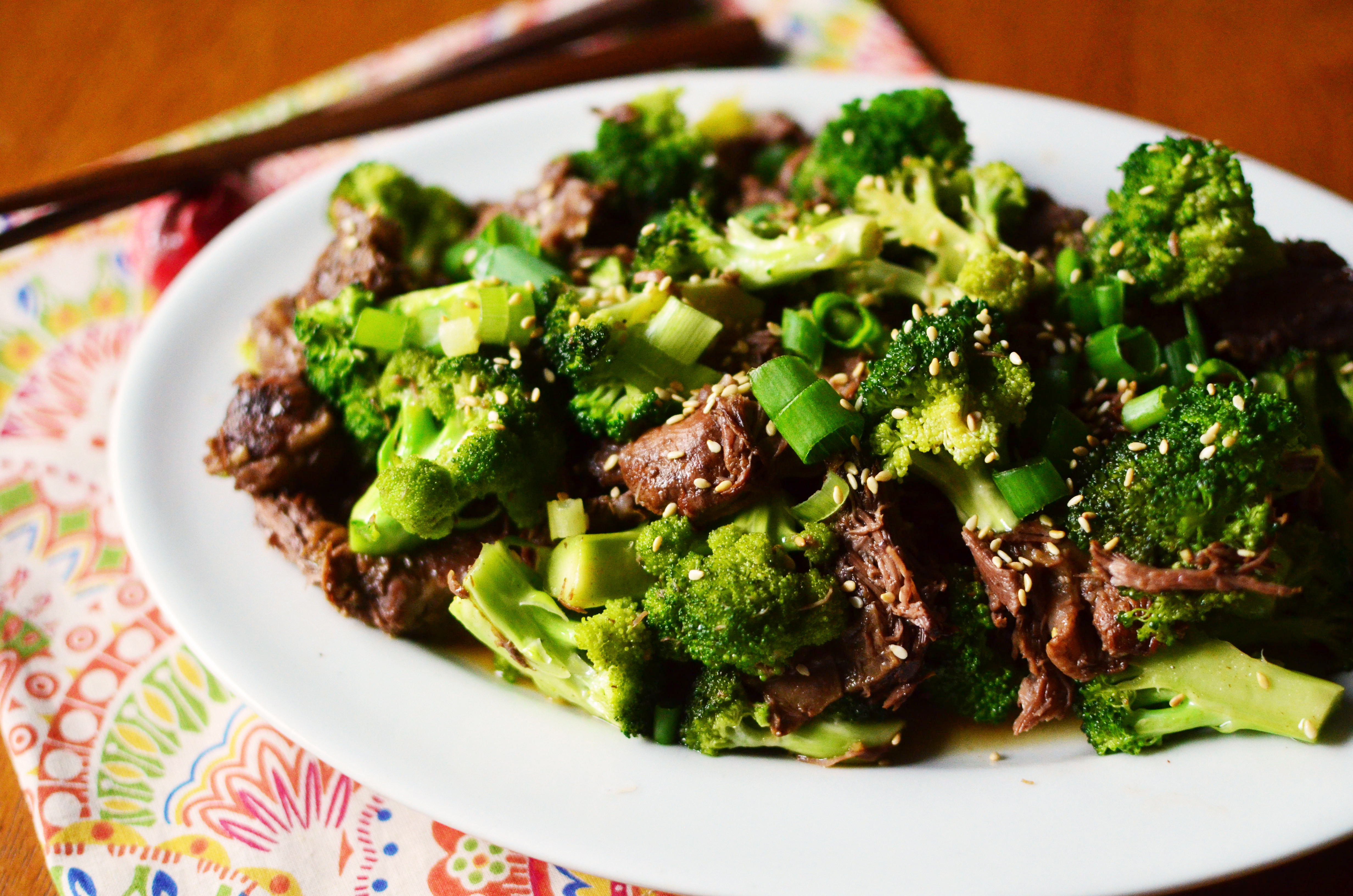 Beef And Broccoli Slow Cooker  Slow Cooker Beef and Broccoli Simple Sweet & Savory