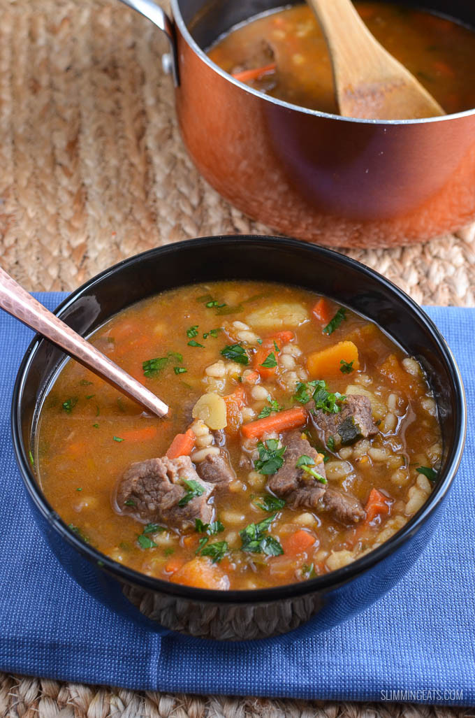 Beef Barley Vegetable Soup  Syn Free Beef Ve able Barley Soup