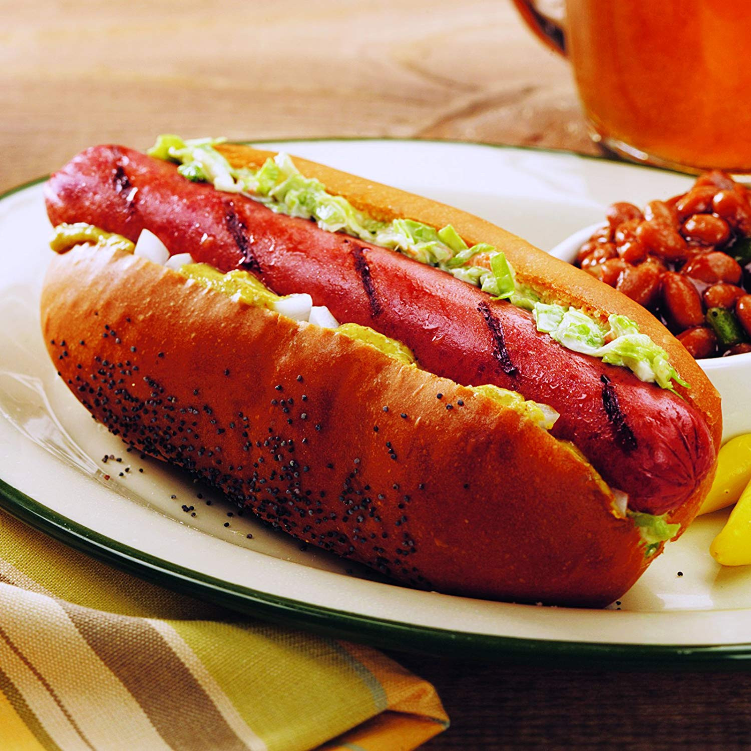 Beef Hot Dogs  OFF Kansas City Steaks 32 3 2oz All Beef Hot Dogs