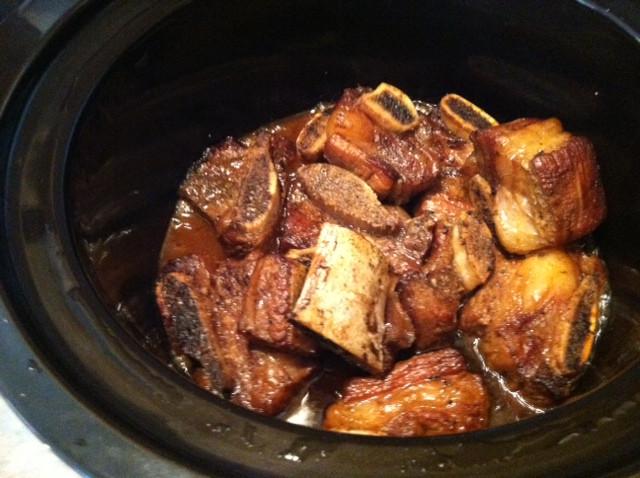 Beef Short Ribs In Crock Pot  Crock Pot Beef Short Ribs