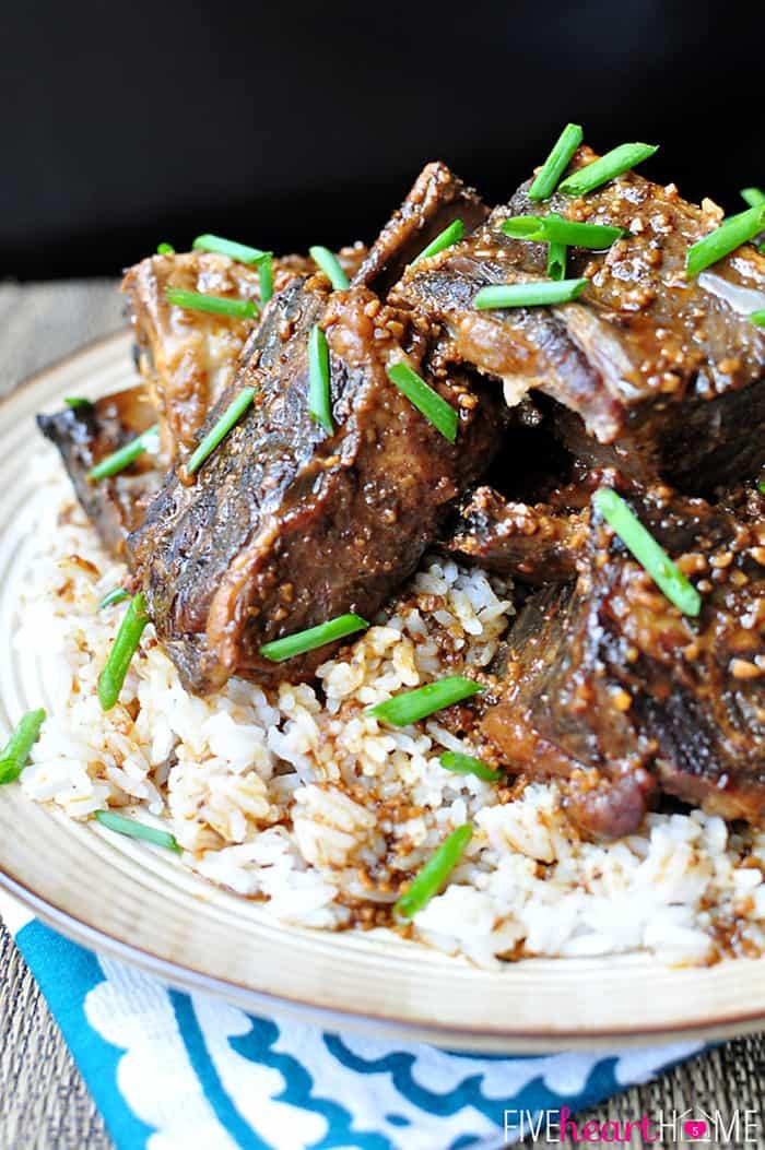 Beef Short Ribs In Crock Pot  Slow Cooker Asian Beef Short Ribs