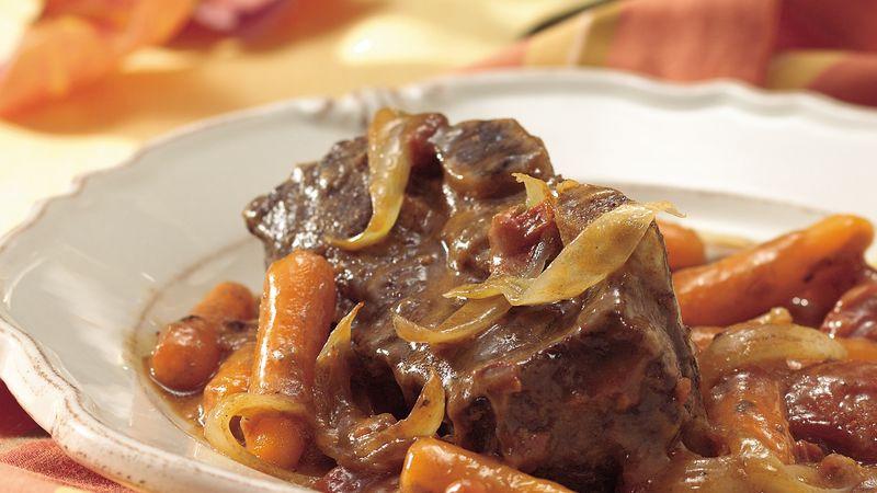 Beef Short Ribs Recipe  Oven Braised Beef Short Ribs recipe from Betty Crocker