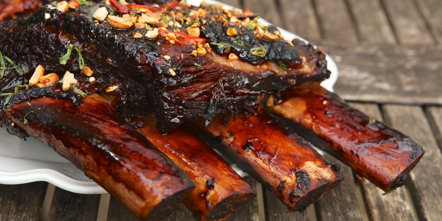 Beef Short Ribs Recipe  Barbecued Beef Short Ribs Recipe Great British Chefs
