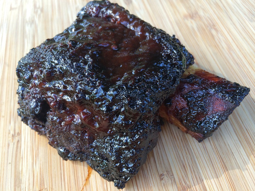 Beef Short Ribs Smoked  Smoked Beef Ribs Beefy Beefy Goodness for Your Belly