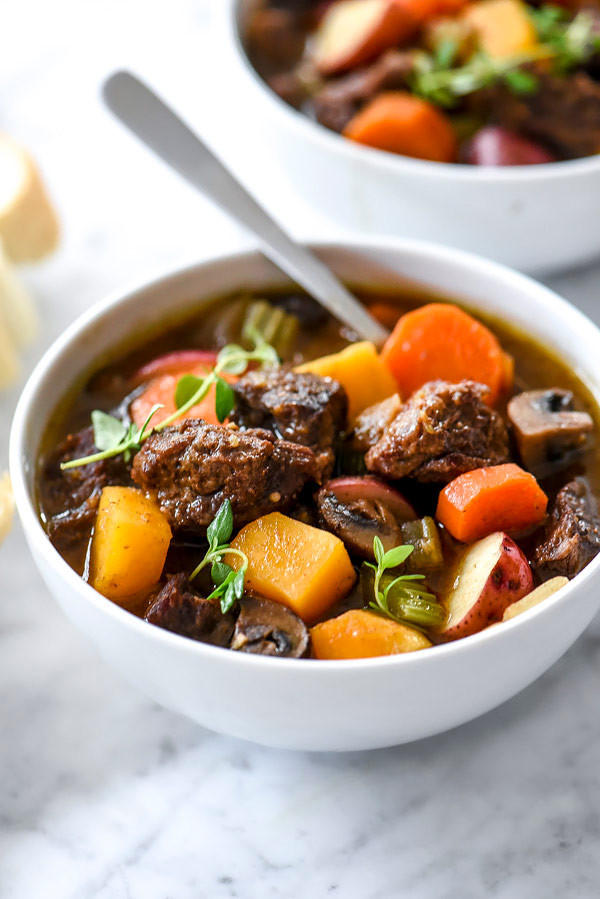 Beef Stew Instant Pot Recipe  Beef Stew with Butternut Squash Instant Pot Slow Cooker