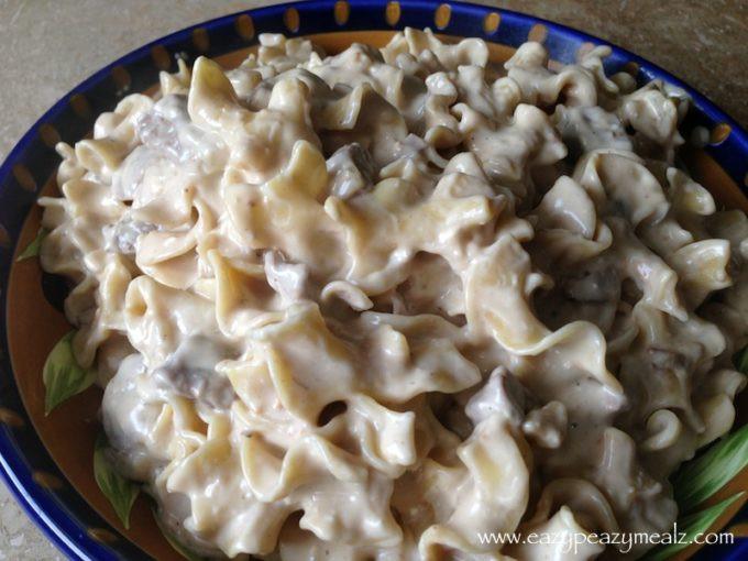 Beef Stroganoff Crockpot  Crock Pot Beef Stroganoff Easy Peasy Meals