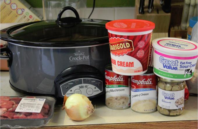 Beef Stroganoff Crockpot  Crock Pot Beef Stroganoff Recipe Tammilee Tips