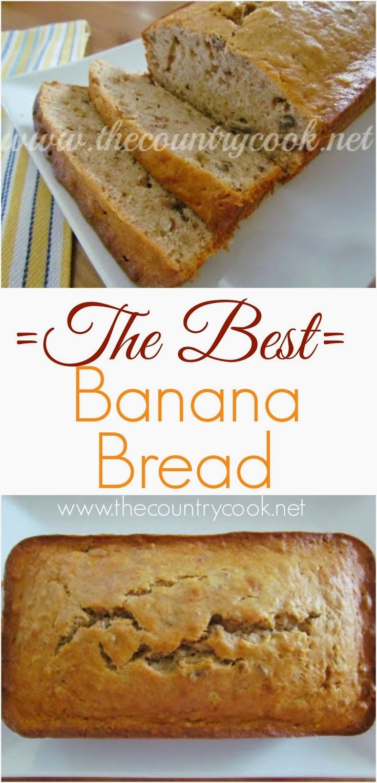 Best Banana Nut Bread  The Best Banana Nut Bread Recipe