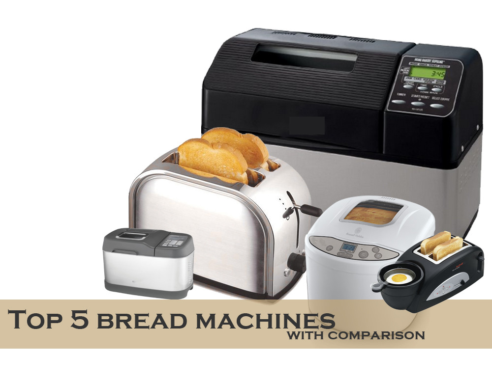 Best Bread Machine  All you need to know about the best bread maker machines