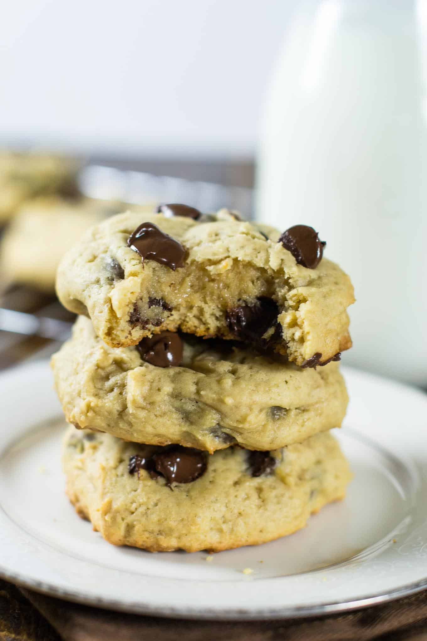 Best Chewy Chocolate Chip Cookies  best soft chewy chocolate chip cookies