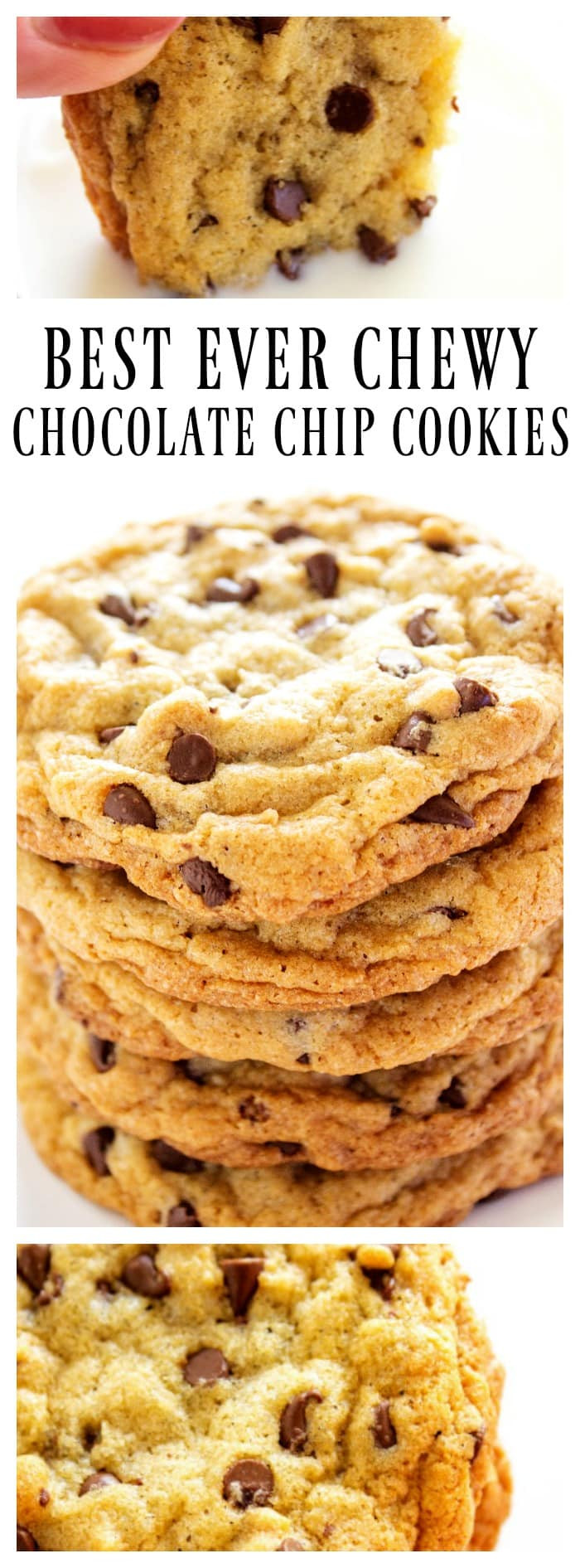 Best Chewy Chocolate Chip Cookies  Best Ever Chewy Chocolate Chip Cookies A Dash of Sanity