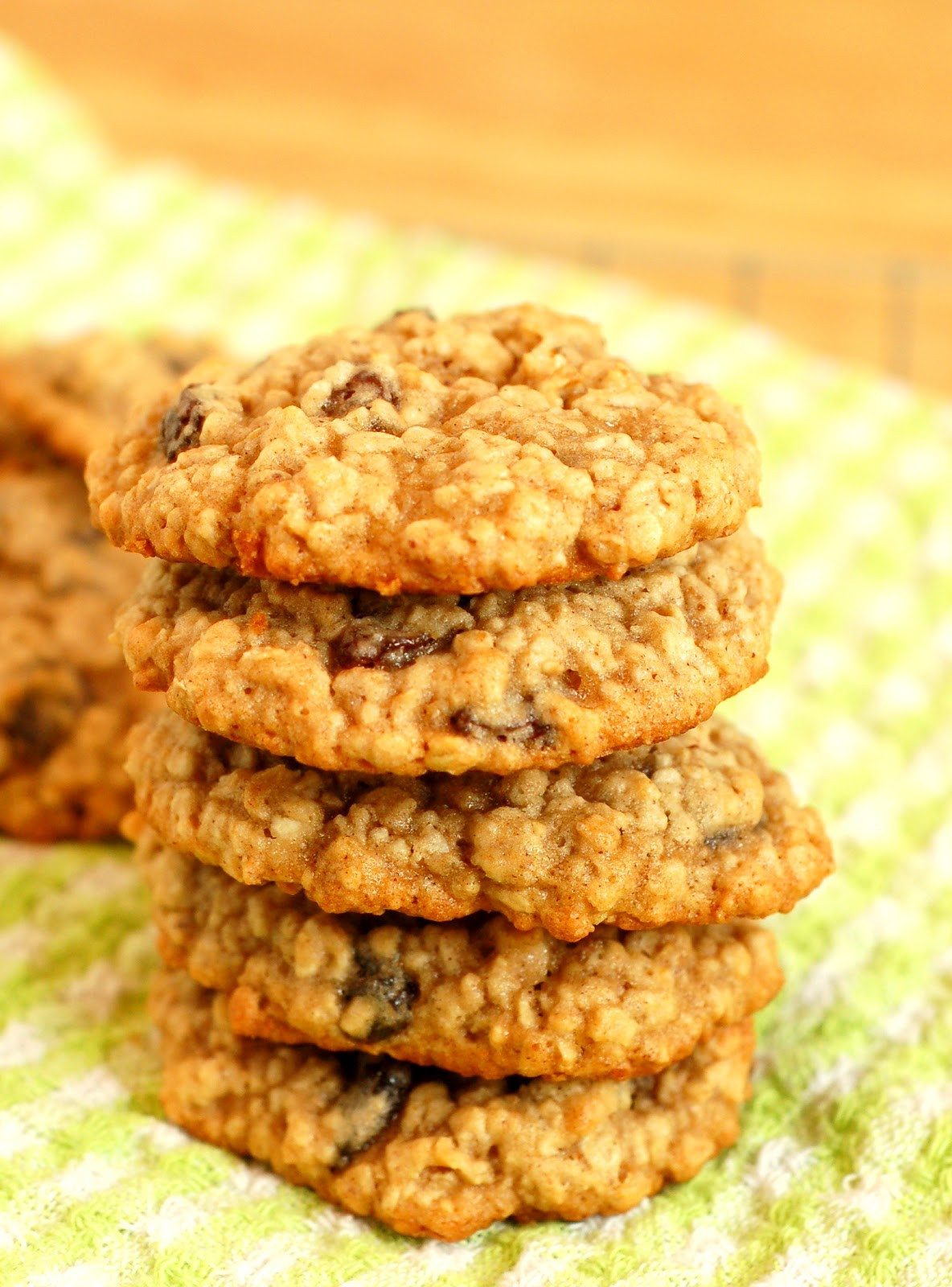 Best Chewy Oatmeal Cookies  Chewy Oatmeal Raisin Cookies A Kitchen Addiction