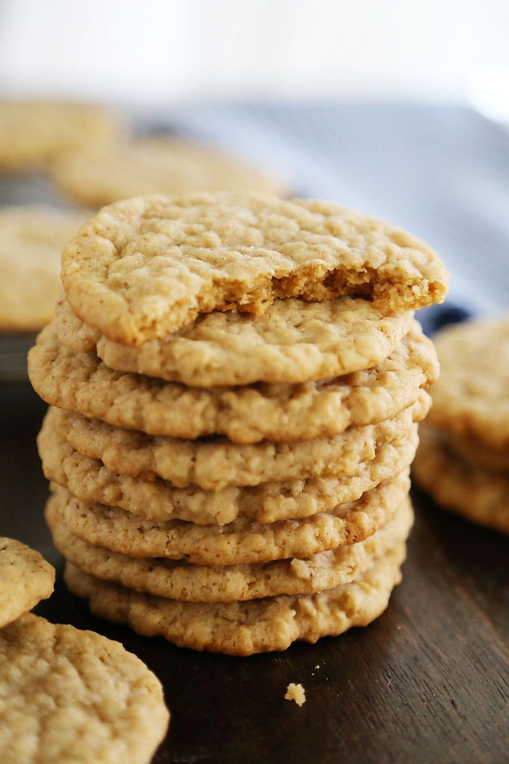 Best Chewy Oatmeal Cookies  17 Best ideas about Chewy Oatmeal Cookies on Pinterest