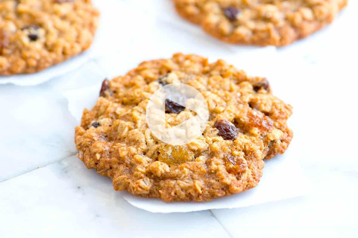 Best Chewy Oatmeal Cookies  Soft and Chewy Oatmeal Raisin Cookies Recipe