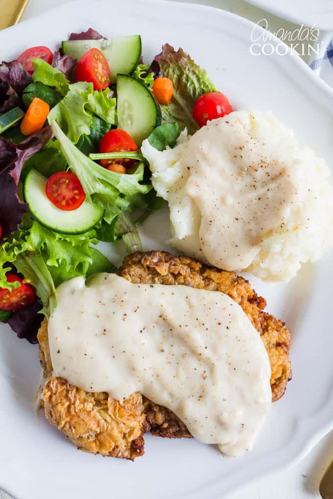 Best Chicken Fried Steak Recipe  the best chicken fried steak