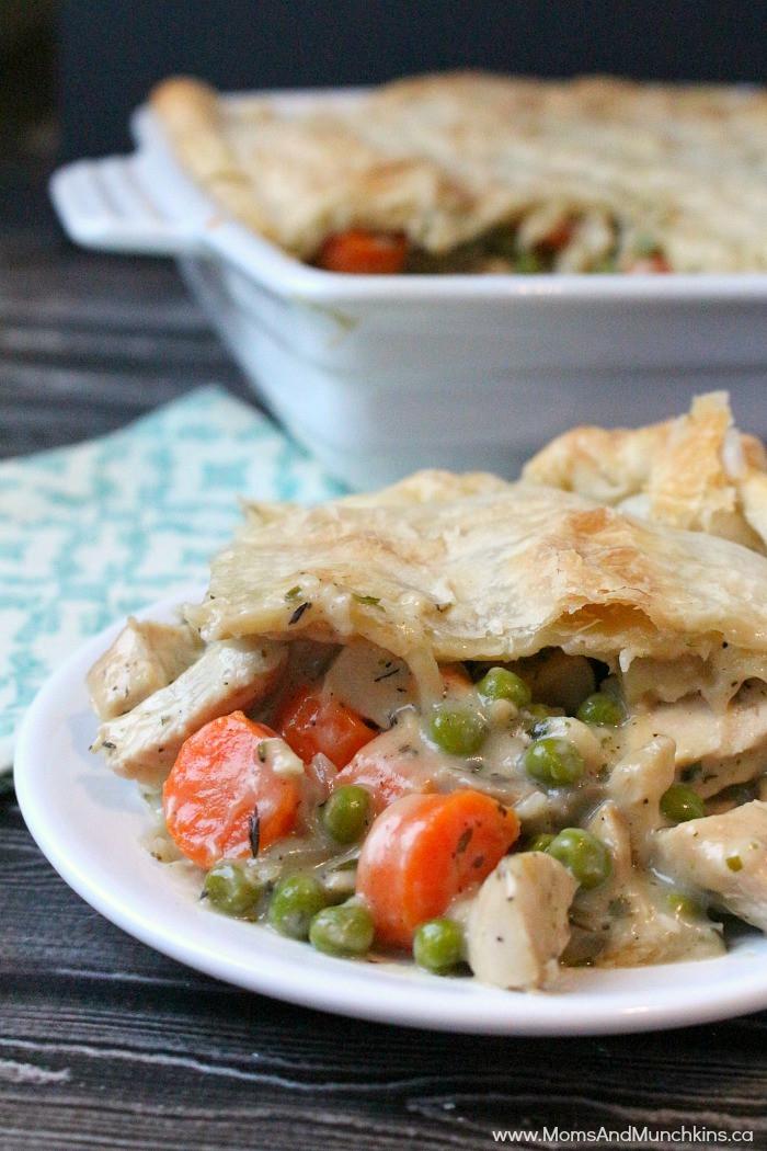 Best Chicken Pot Pie Recipe  Chicken Pot Pie Recipe The Best Moms & Munchkins