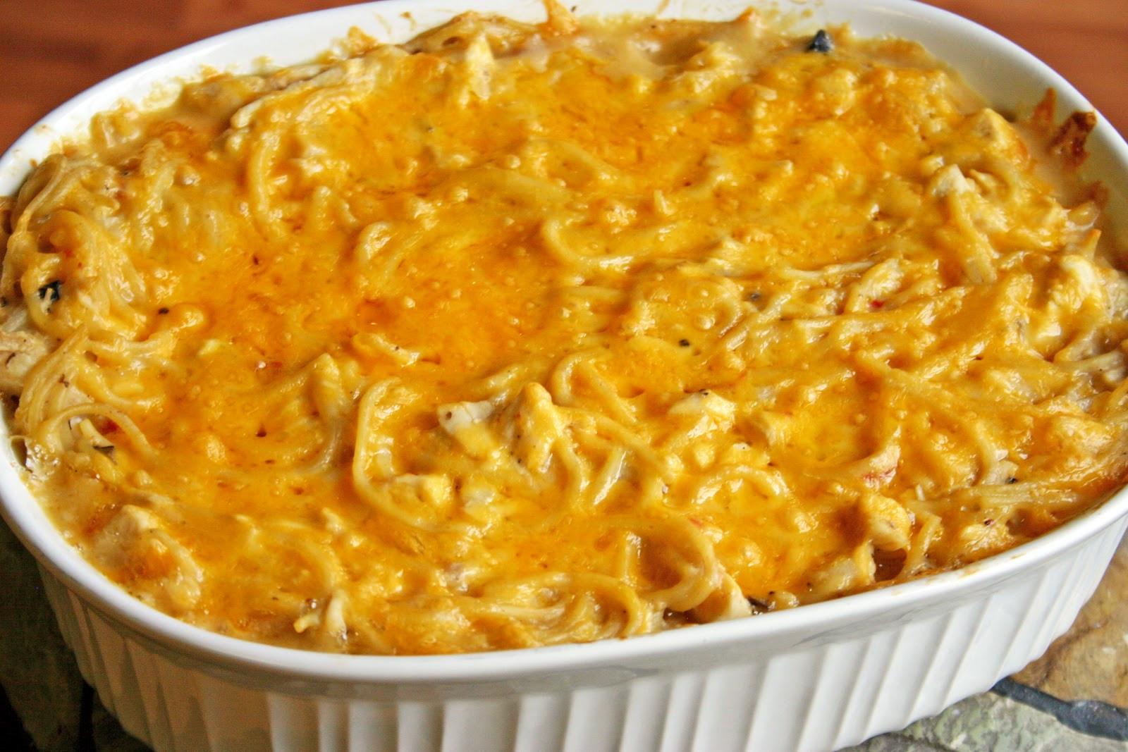 Best Chicken Spaghetti Recipe  The Recipe Nut
