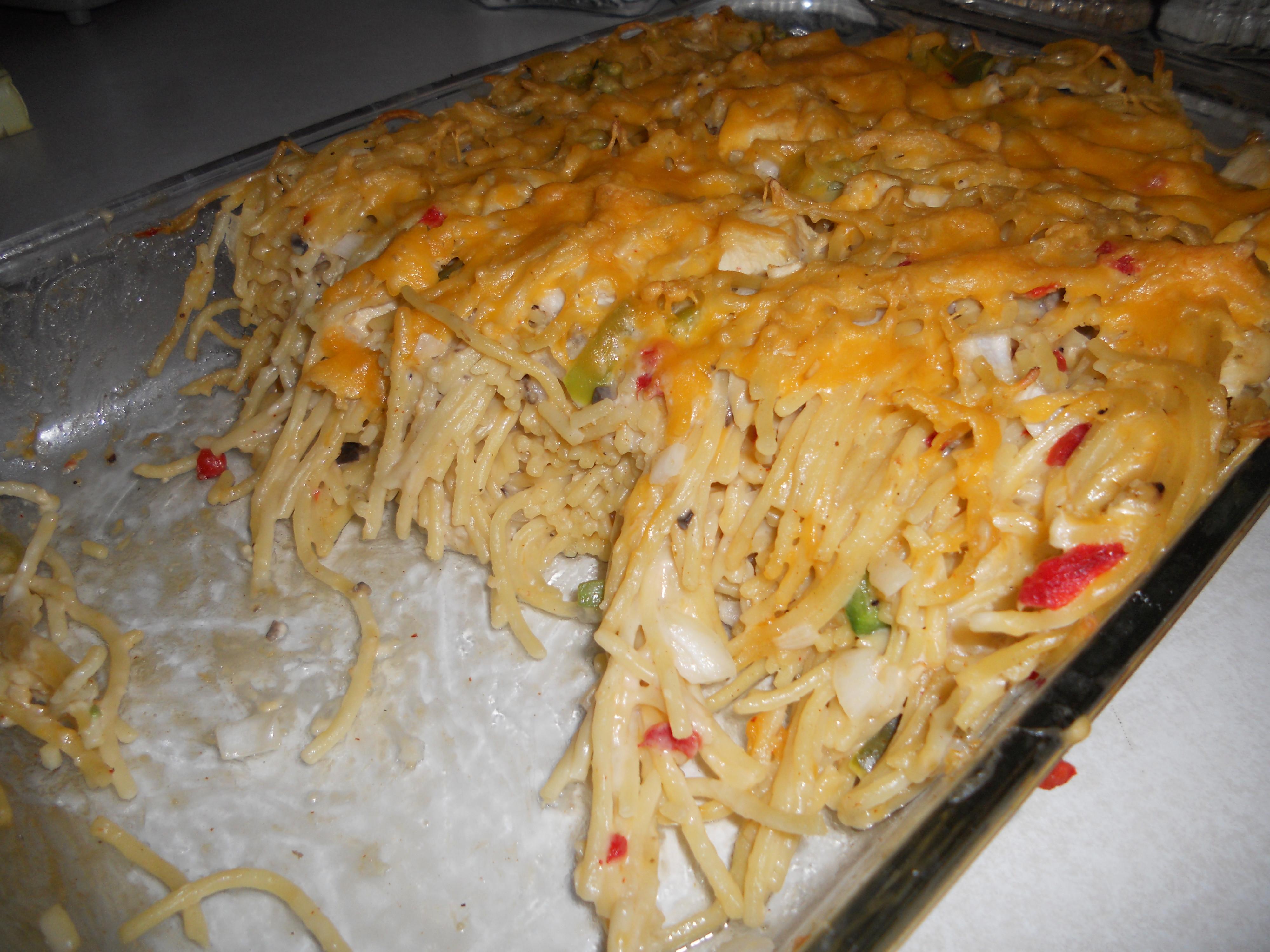 Best Chicken Spaghetti Recipe  best chicken spaghetti casserole ever Video Search