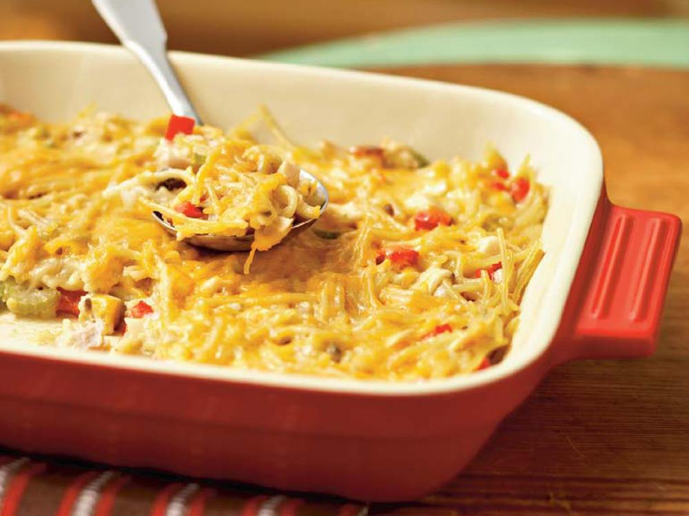 Best Chicken Spaghetti Recipe  chicken spaghetti