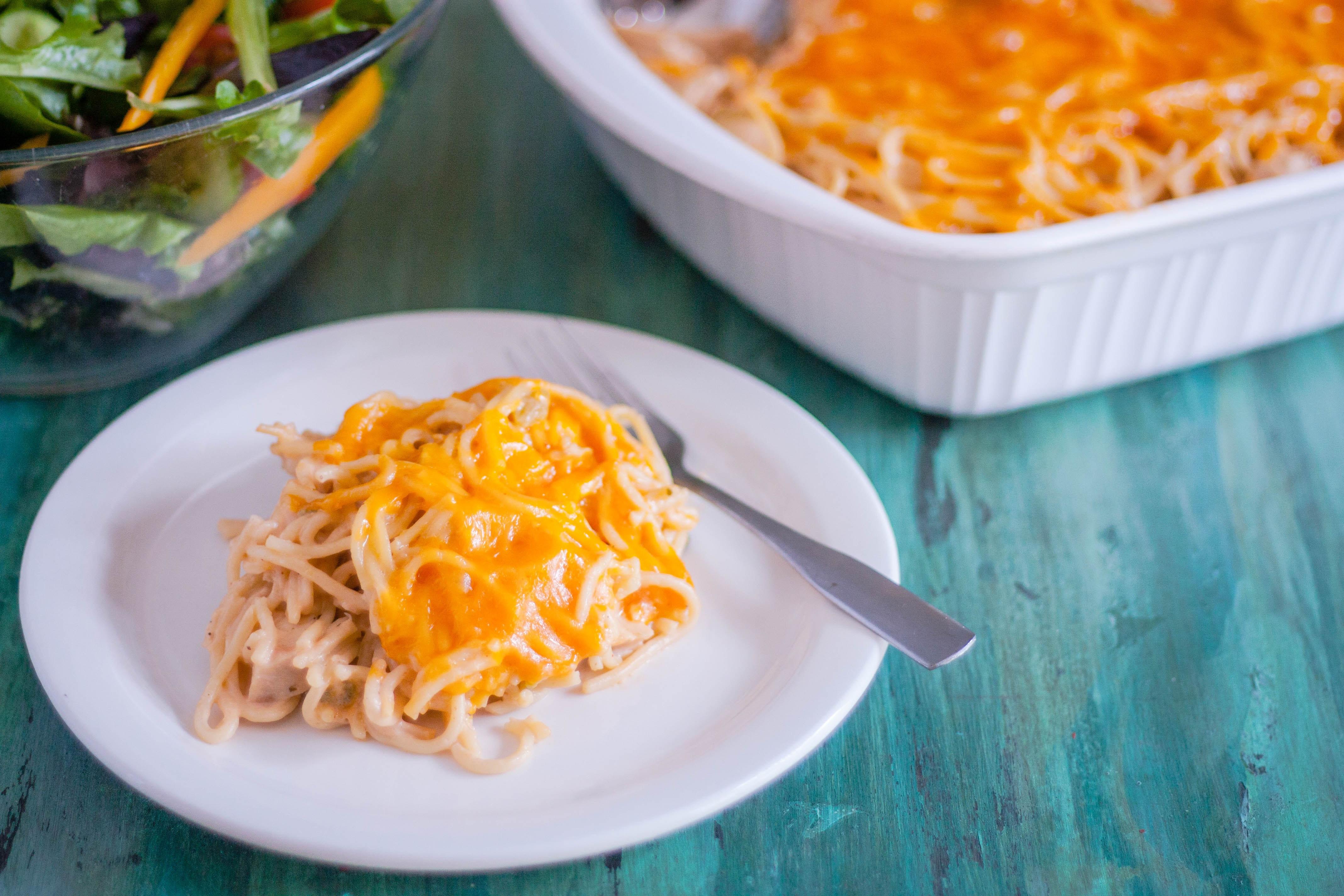Best Chicken Spaghetti Recipe  New Chicken Spaghetti