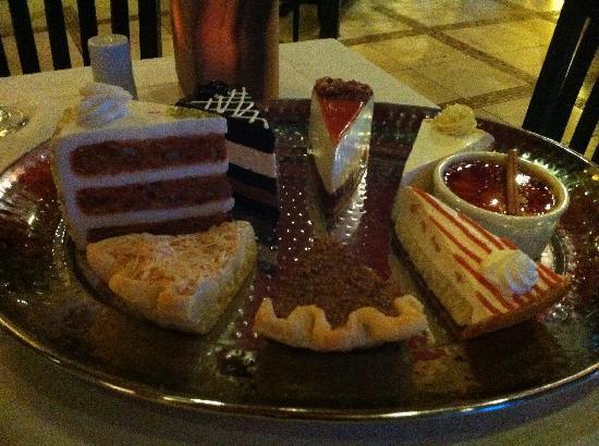 Best Dessert In Tampa  Dessert Tray Picture of Texas de Brazil Tampa TripAdvisor