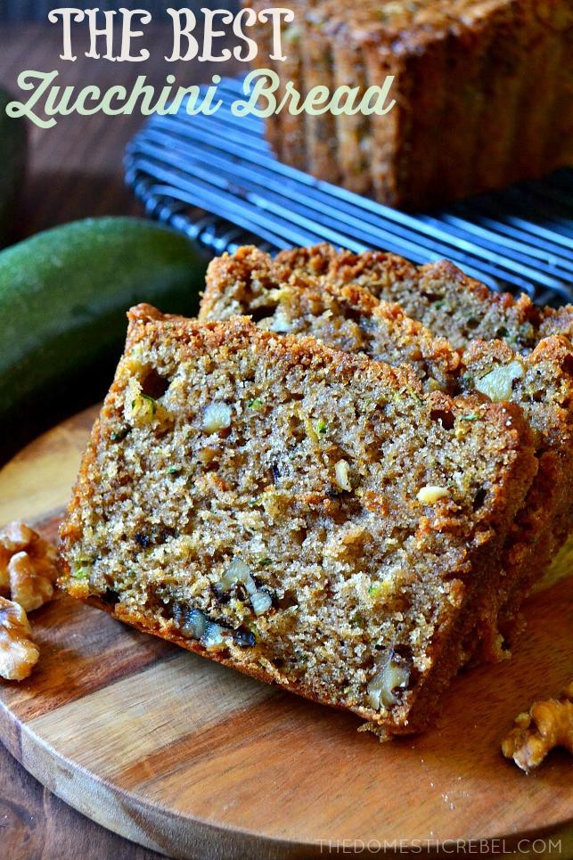 Best Ever Zucchini Bread  Best Ever Zucchini Walnut Bread – recipequicks
