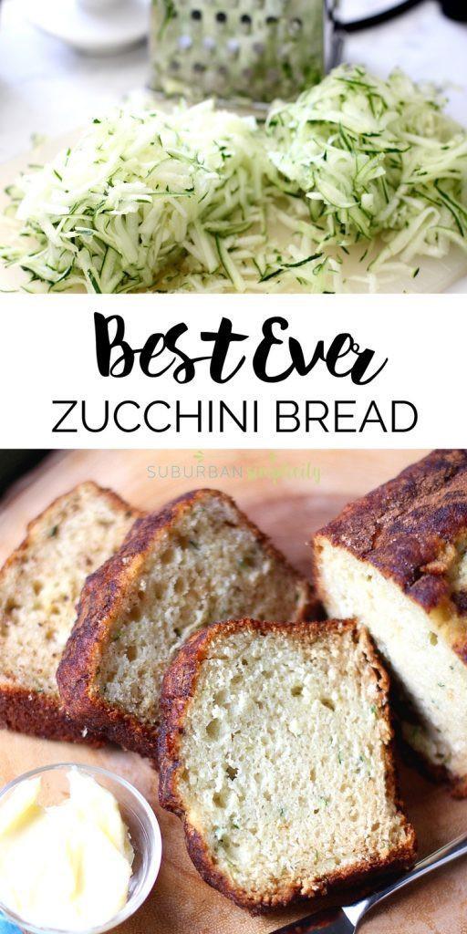 Best Ever Zucchini Bread  Best Ever Zucchini Bread Recipe