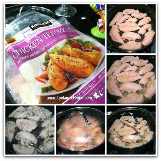 Best Frozen Chicken Tenders  Poached Chicken Breast Tenders Toot Sweet 4 Two