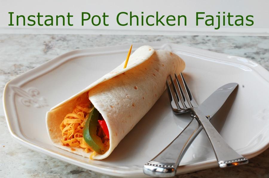 Best Frozen Chicken Tenders  Instant Pot Chicken Fajitas with a slow cooker option