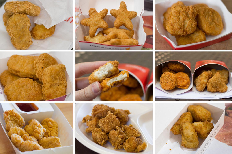 Best Frozen Chicken Tenders  Taste Test The Best Fast Food Chicken Nug s