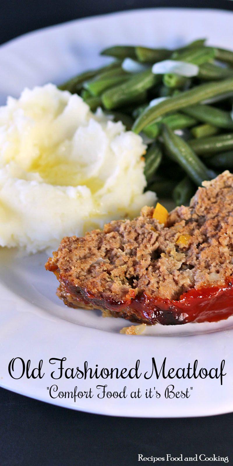 Best Meatloaf Recipe Food Network  Old Fashioned Meatloaf