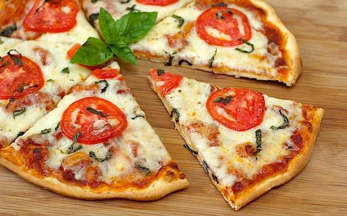 Best Pizza Dough Recipe In The World  The Secret Recipe Club Homemade Thin Crust Pizza with