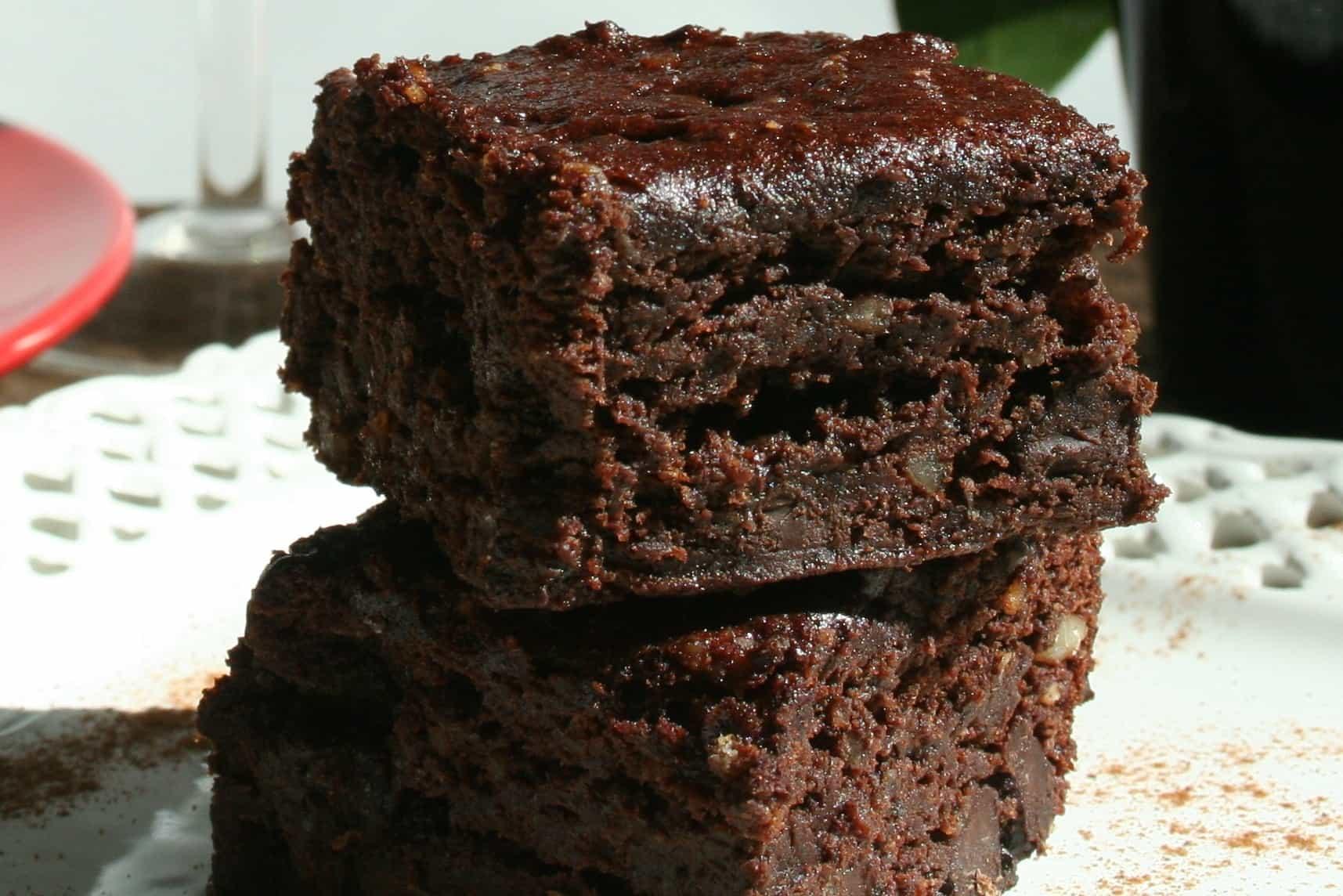 Best Vegan Brownies  Vegan Brownies Gluten free Oil free Plantivores