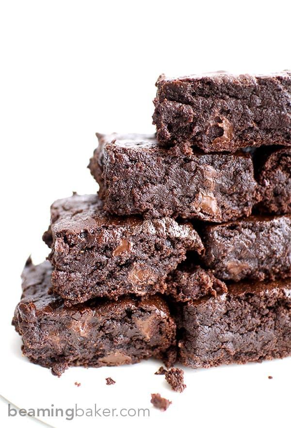Best Vegan Brownies  Best Vegan Brownies Beaming Baker
