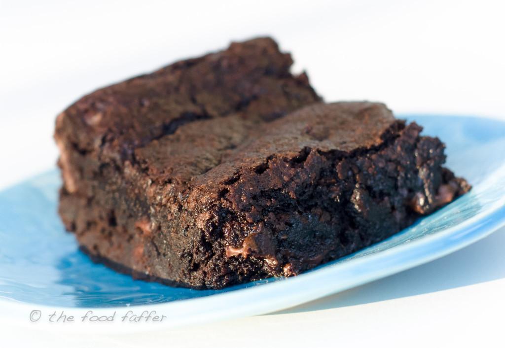 Best Vegan Brownies  Best Flippin Vegan Brownies the food faffer