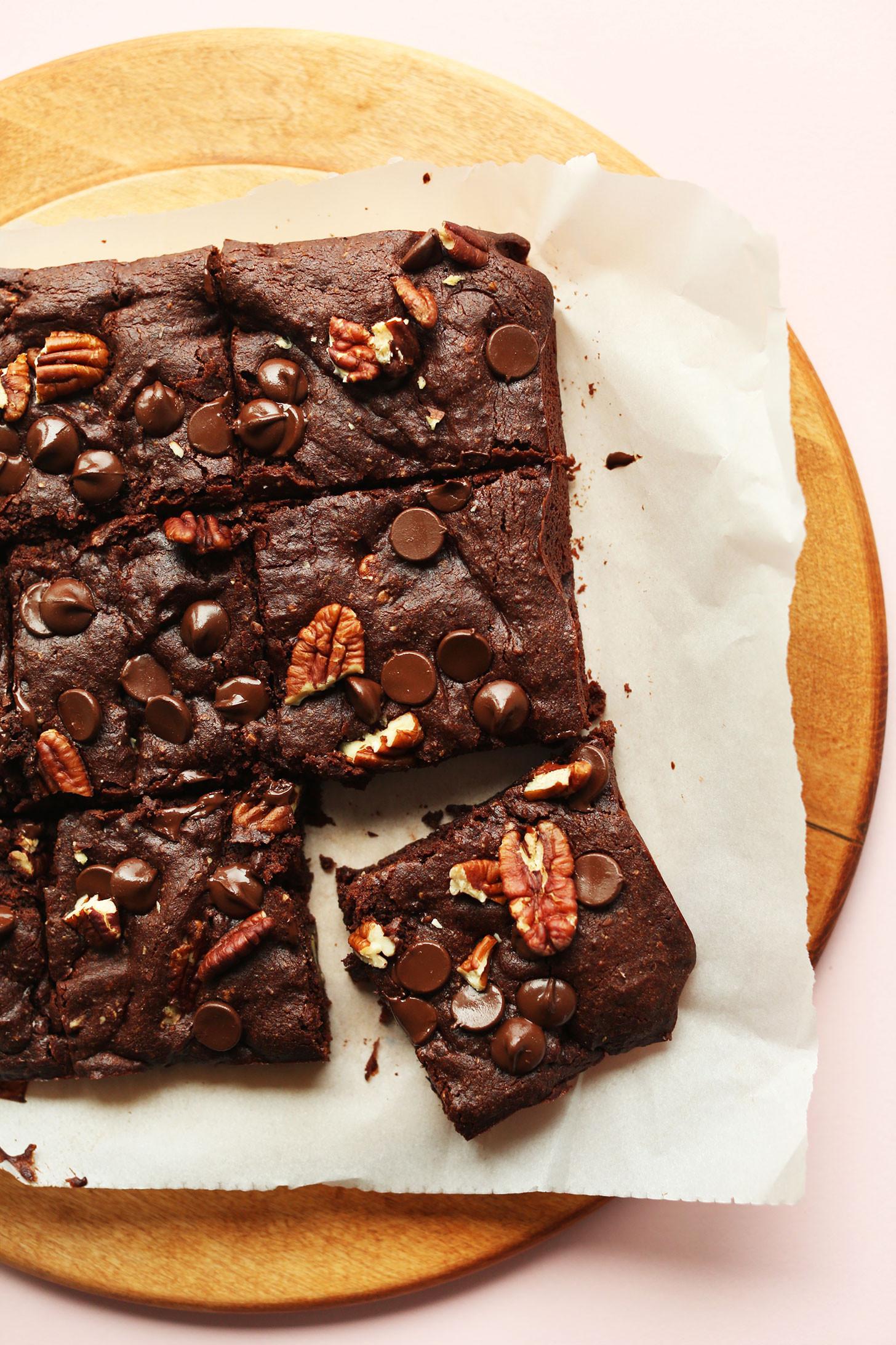 Best Vegan Brownies  vegan brownies applesauce coconut oil