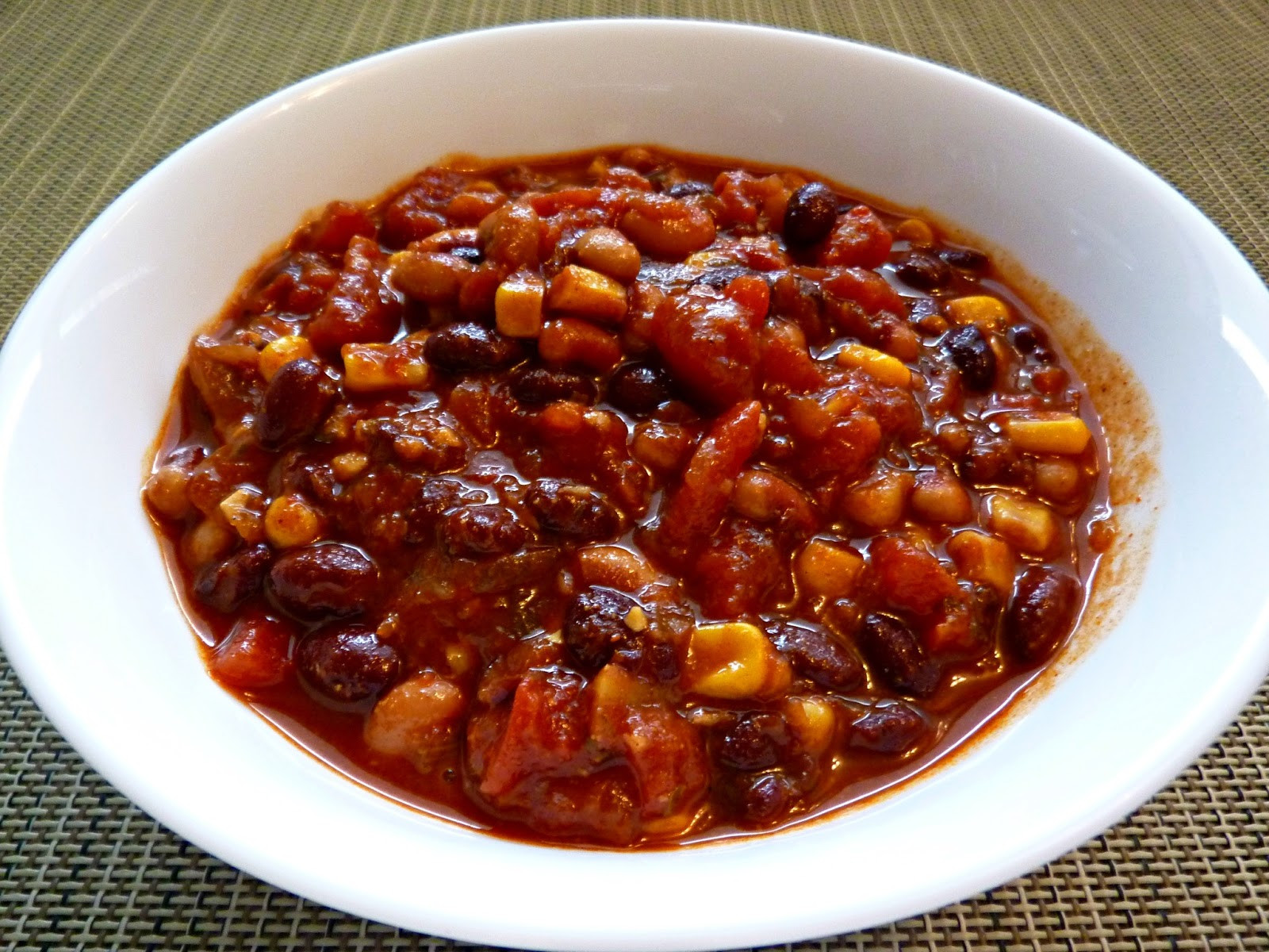 Best Vegetarian Chili  Best Ve arian Chili If Not Still Really Yummy As the
