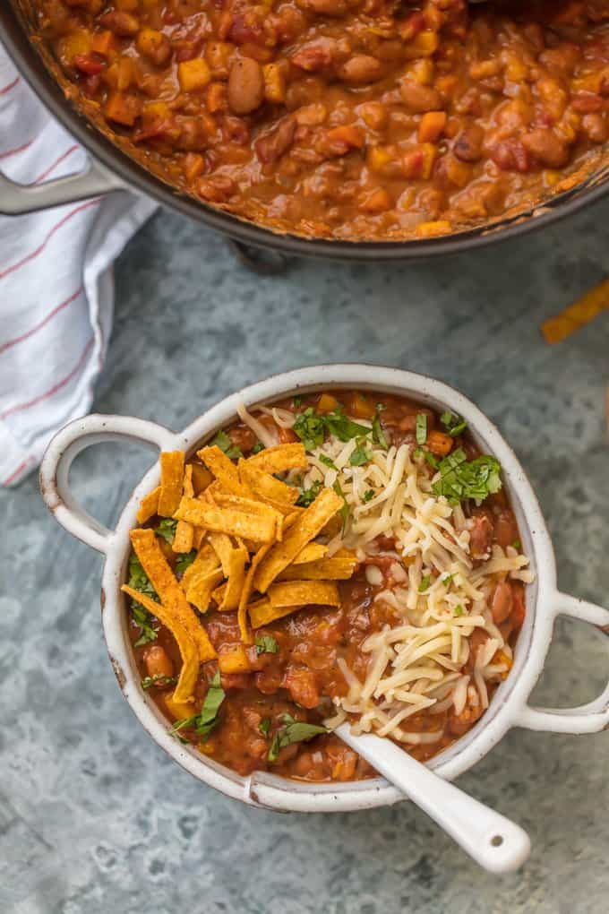 Best Vegetarian Chili  Best Ve arian Chili Recipe Easy Vegan Chili Recipe