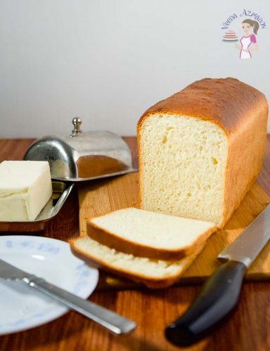 Best White Bread Recipe  BEST White Sandwich Bread Recipe Veena Azmanov
